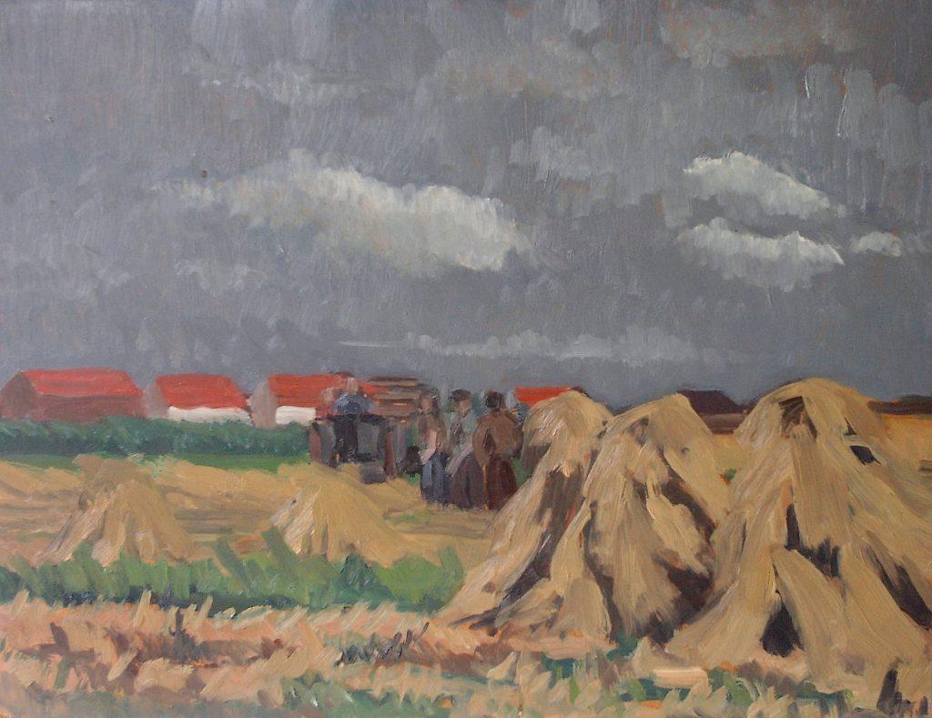 Schilderij van Frits Wichard sr.